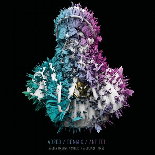 Commix, Adred, Ant TC1, DRS - Valley Groove / Stuck in a Loop 2019 (EP)