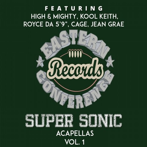 Eastern Conference Super Sonic Acapellas, Vol  1 [Eastern Conference
