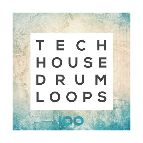 Tech House Drum Loops [100]