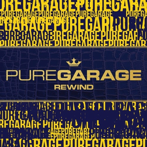 VA - PURE GARAGE REWIND [LP] 2019 3CD