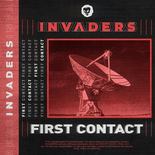 VA -  INVADERS: First Contact LP