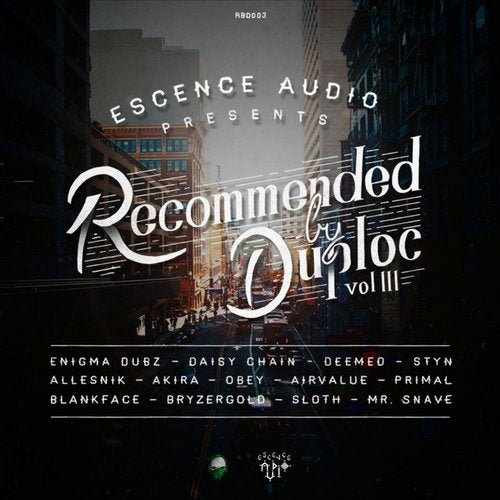 RECOMMENDED BY DUPLOC VOL. 3 (LP) 2014