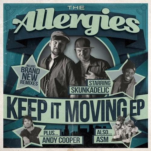 The Allergies - Keep It Moving (EP) 2019