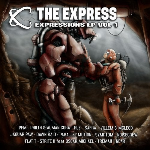 VA - THE EXPRESS - EXPRESSIONS VOL #1 [LP] 2018