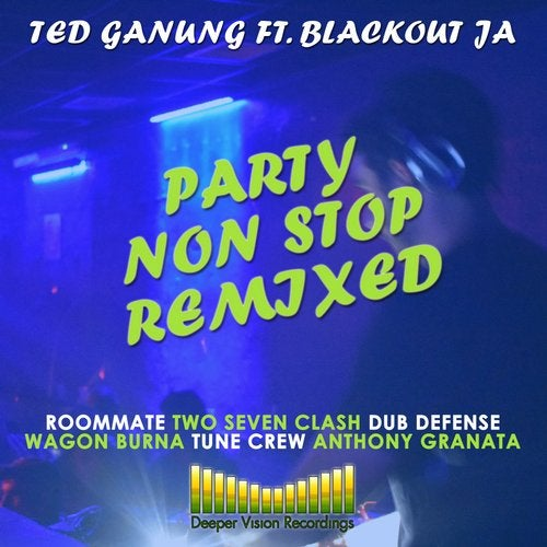 Ted Ganung — Party Non Stop (Remixed) [LP] 2018