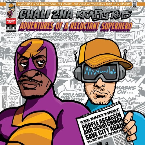 Chali 2na, Krafty Kuts - Adventures Of A Reluctant Superhero [LP] 2019