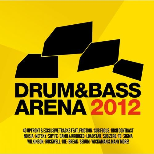 VA - DRUM & BASS ARENA 2012 LP