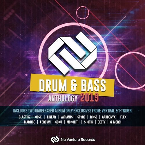 NU VENTURE DRUM & BASS ANTHOLOGY (LP) 2019
