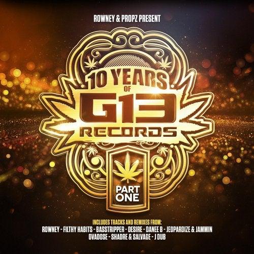 VA - 10 Years of G13 Records Part 1 2019 [LP]
