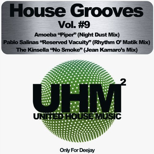 HOUSE GROOVES VOL 9 ONLY FOR DEEJAY