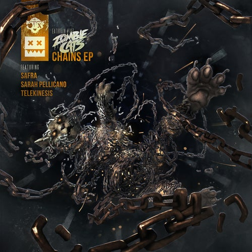 Zombie Cats - Chains EP (EATBRAIN117)