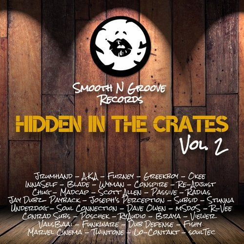 VA — HIDDEN IN THE CRATES, VOL. 2 [LP] 2018