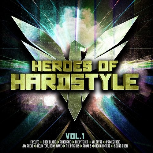 VA - HEROES OF HARDSTYLE VOL. 1 (LP) 2019
