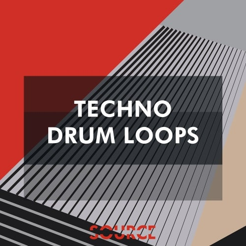 Techno Drum Loops [Source Sounds]