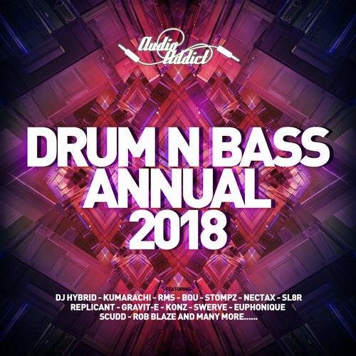 VA - DRUM & BASS ANNUAL (AUDIO ADDICT) 2018 (LP) 2018