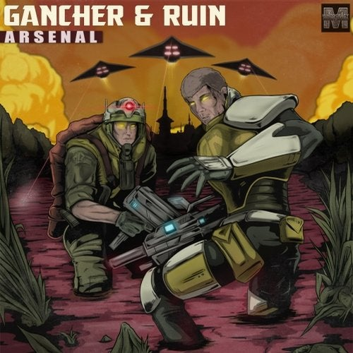 Gancher & Ruin - Arsenal LP