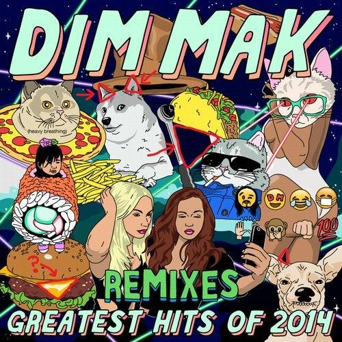 VA - Dim Mak Greatest Hits 2014 Remixes 2015 [LP]