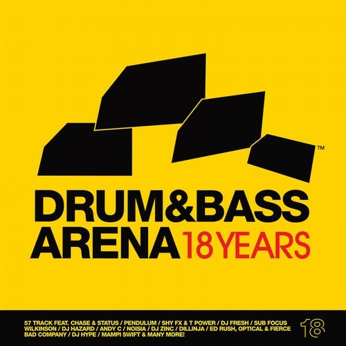 VA - DRUM & BASS ARENA 18 YEARS 2014 [LP]