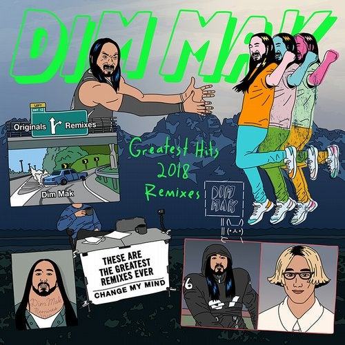 VA - Dim Mak Greatest Hits 2018 Remixes 2019 [LP]