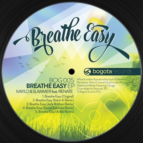 Breathe Easy feat  Renate from Bogota Records on Beatport