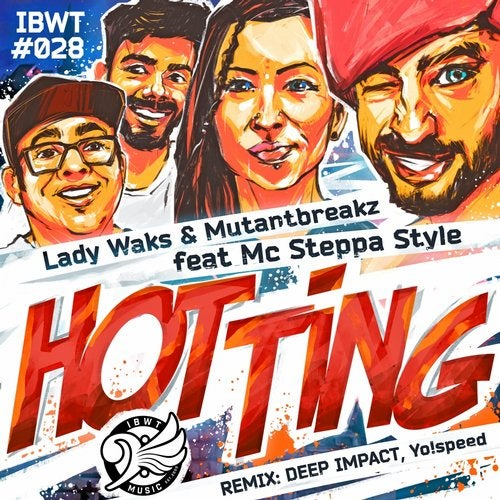 LADY WAKS — Hot Ting (EP) 2018