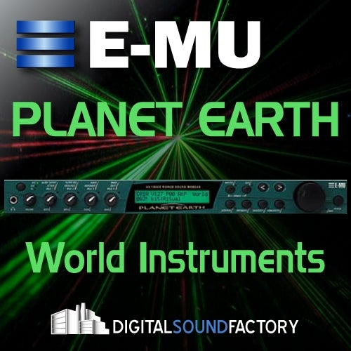 E-MU Planet Earth [Digital Sound Factory]