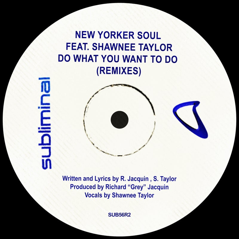 Do What You Want To Do - Remixes