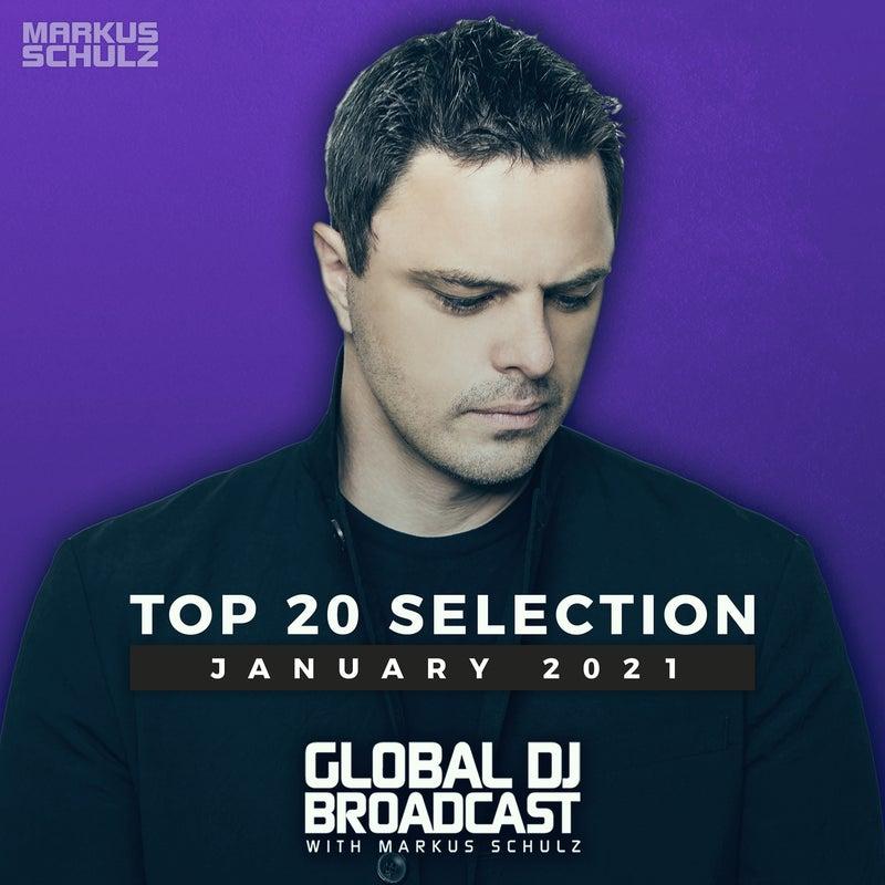 Global DJ Broadcast - Top 20 January 2021