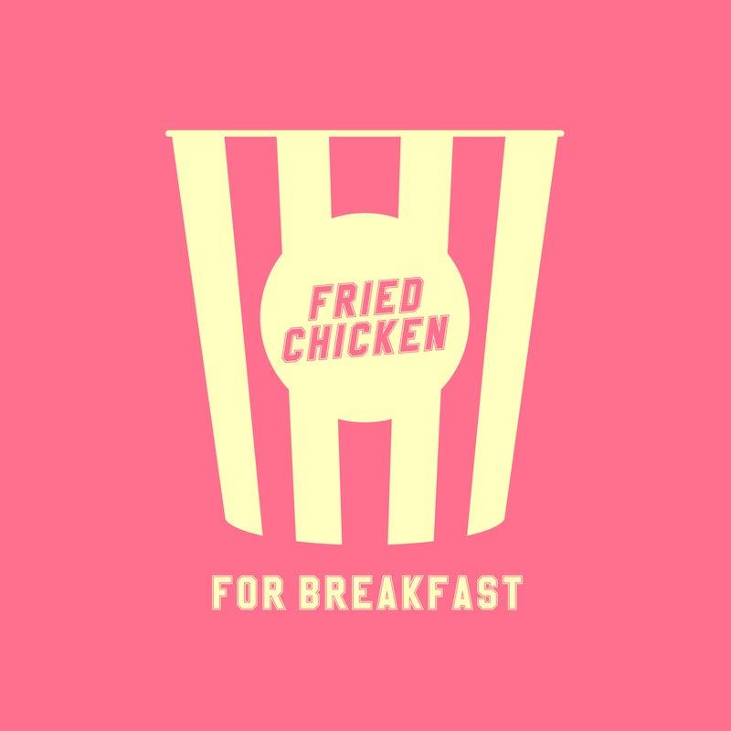 Fried Chicken For Breakfast