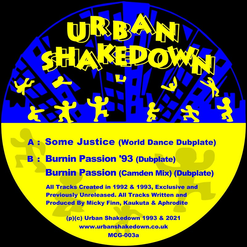 Some Justice / Burning Passion / The 1993 Dubplates