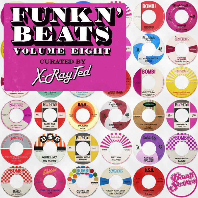 Funk N' Beats, Vol. 8 (Curated by X-Ray Ted)