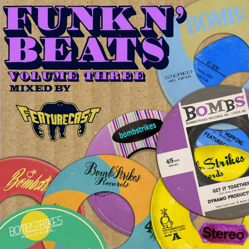 Funk n' Beats, Vol. 3 (Mixed by Featurecast)