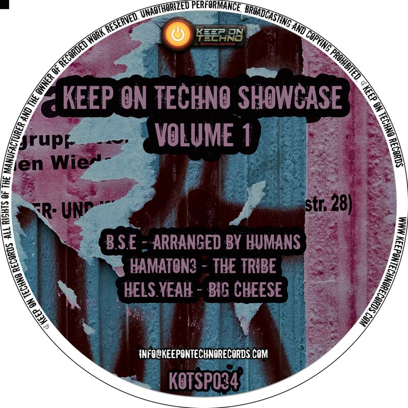 Keep On Techno Showcase Volume 1