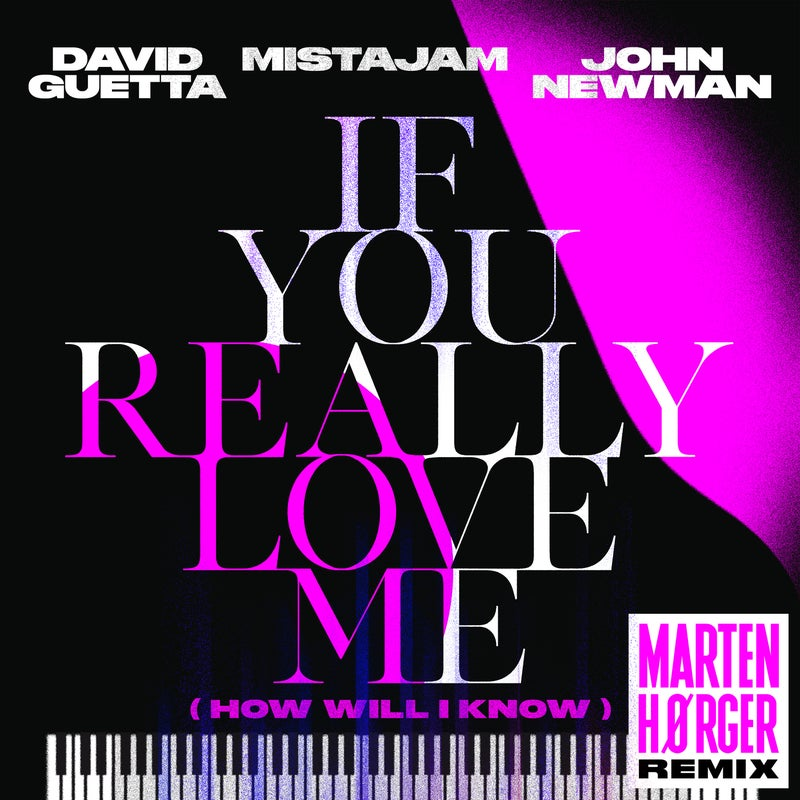 If You Really Love Me (How Will I Know) [Marten Hørger Remix Extended]