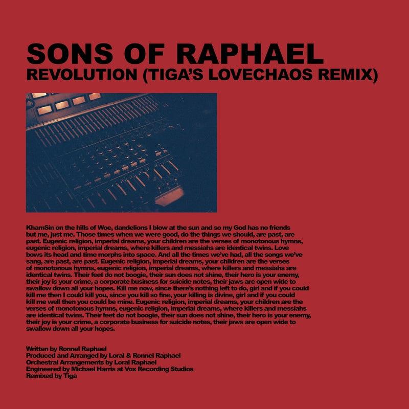 Revolution (Tiga's LoveChaos remix)