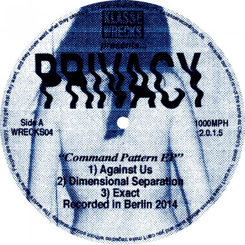 Command Pattern EP (w/ Helena Hauff Remix)