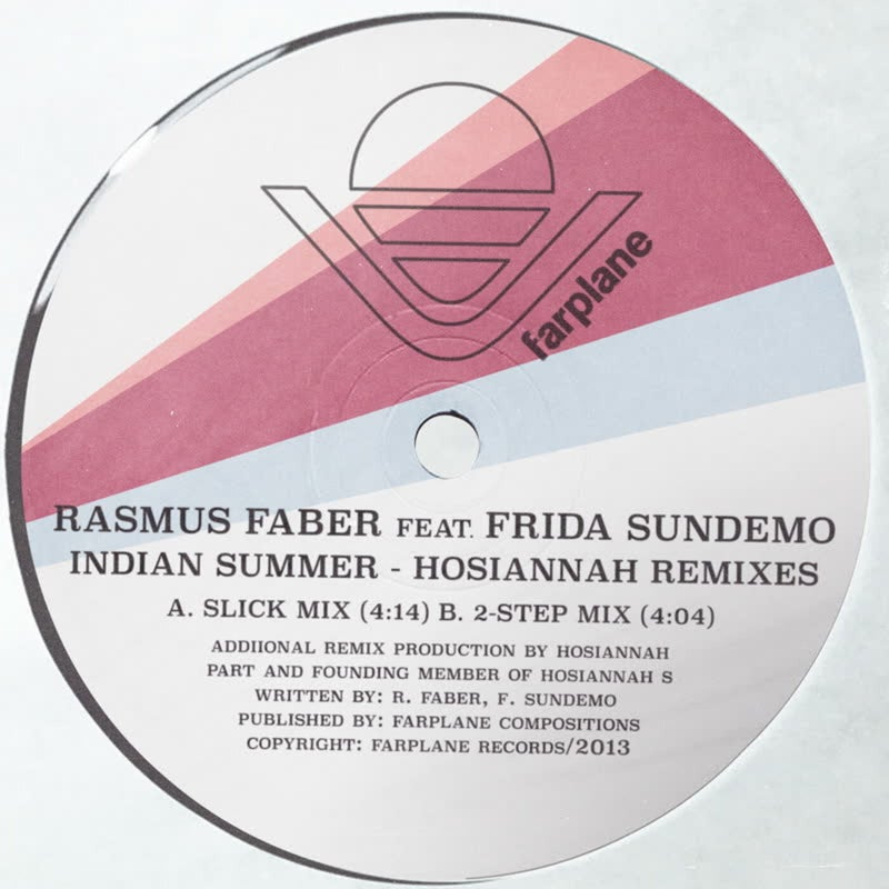 Indian Summer - Hosiannah Remixes (feat. Frida Sundemo)