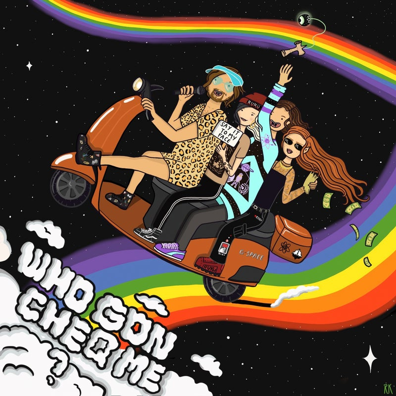 WHO GON CHEQ ME (feat. Ruku & lysn.)