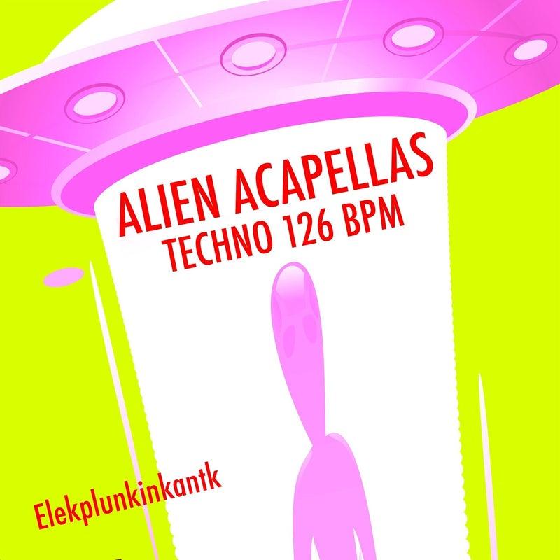 Alien Acapellas Techno 126 Bpm (DJ Tools)