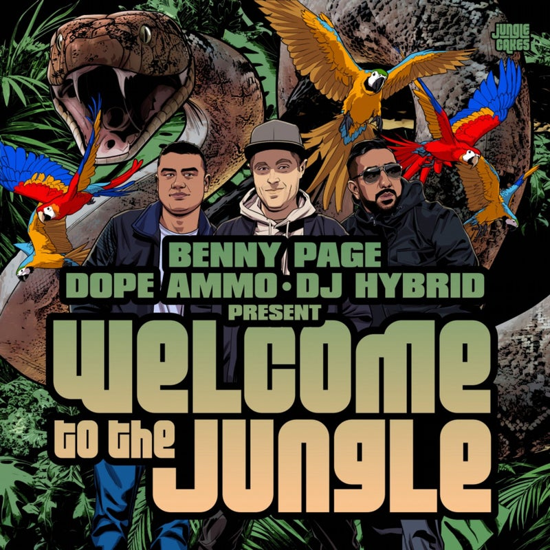 Benny Page, Dope Ammo & DJ Hybrid presents Welcome To The Jungle
