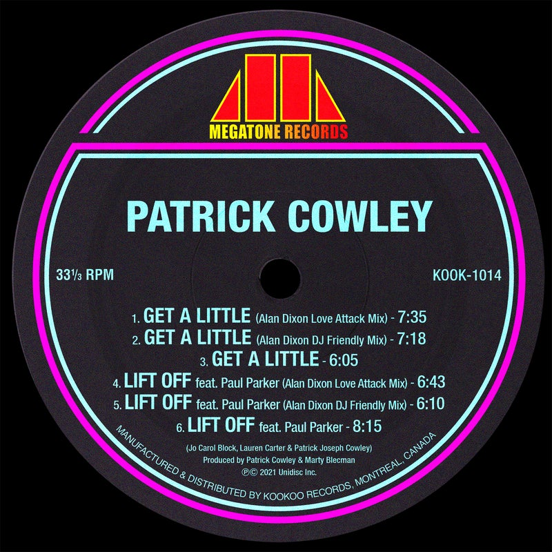 Get a Little / Lift Off (Alan Dixon Remixes)