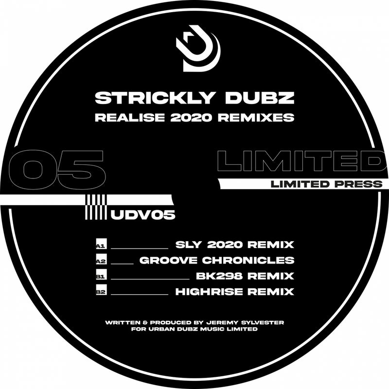 Strickly Dubz - Realise (Remixes)